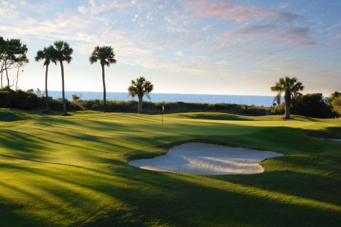 The 15th at Sea Pines' Ocean Course