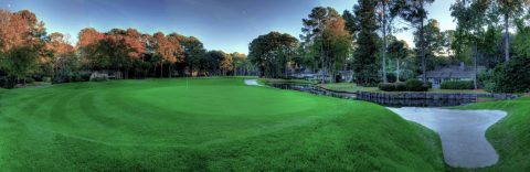 8th hole @ Harbour Town