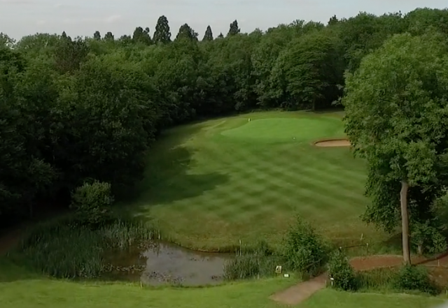 The 17th at Brickendon Grange GC in Hertford