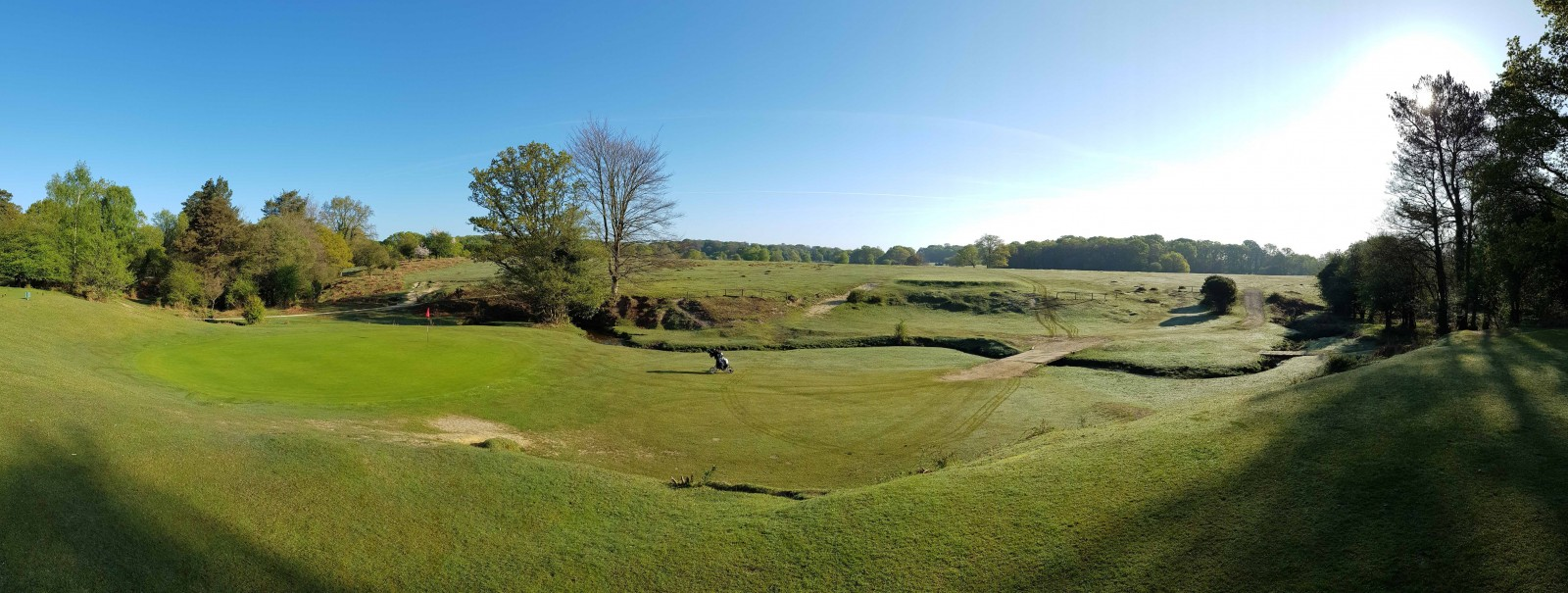 Fred Ghinn - Forest Course 6th Green Panorama