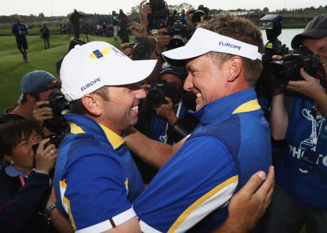 Garcia, Poulter and Lowry receive Ryder Cup nod