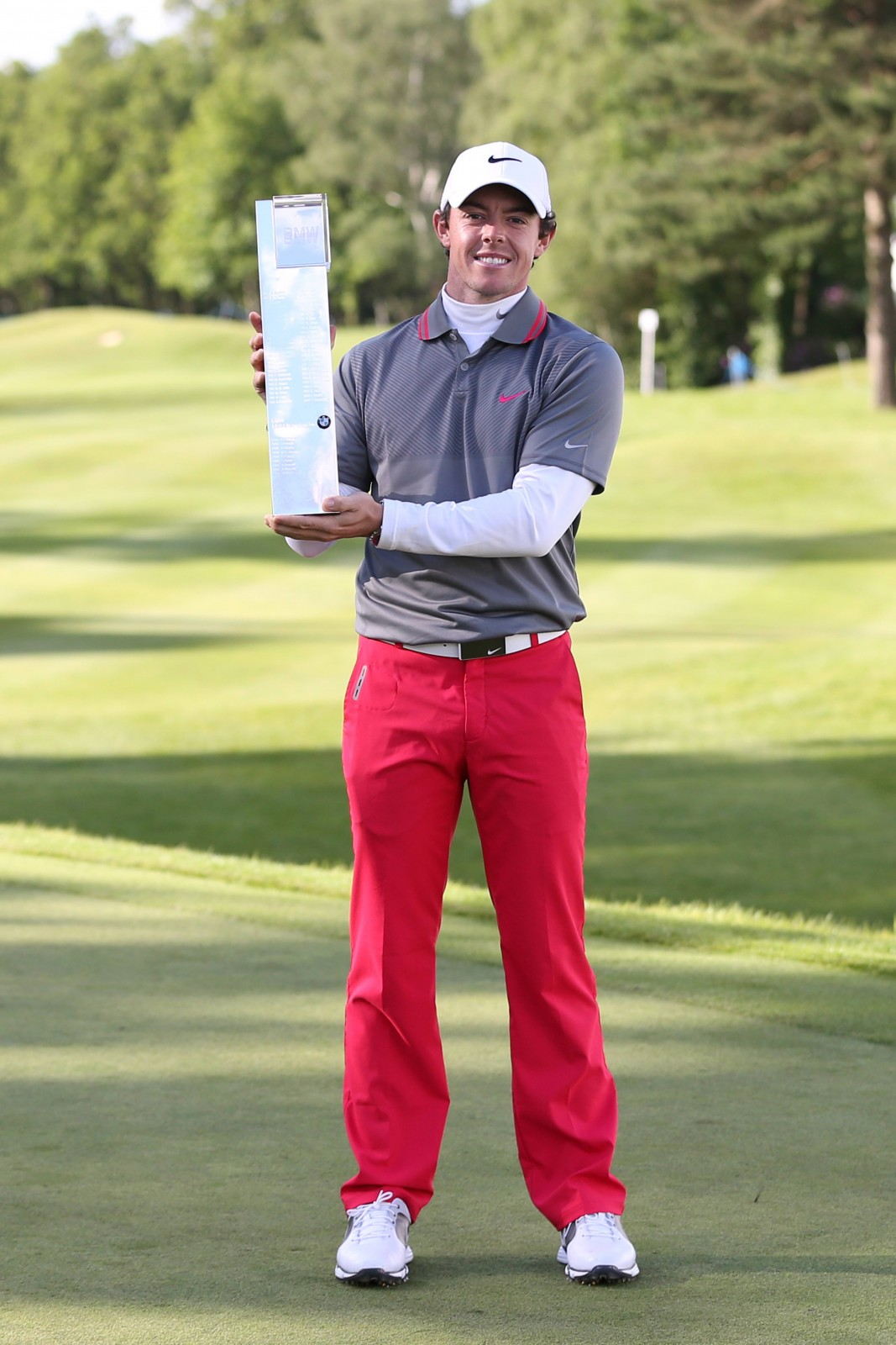 McIlroy is looking to repeat his win of 2014 at this week's BMW PGA Championship
