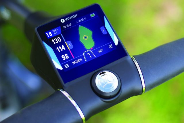 Motocaddy rolls out touch-screen M5 GPS trolleys | Equipment | InTheSnow Ski Magazine